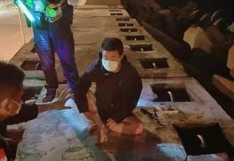 福建男13小時渡黑水溝抵台中港 稱一路風平浪靜