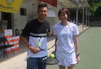 前網球國手搭檔議員妹妹 挑戰全運會資格