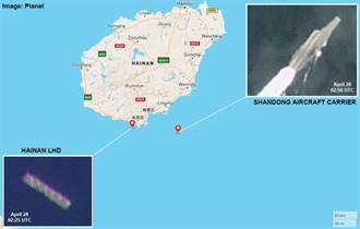 山東艦赴南海075海南艦離港 陸各界期待演出「雙航母」