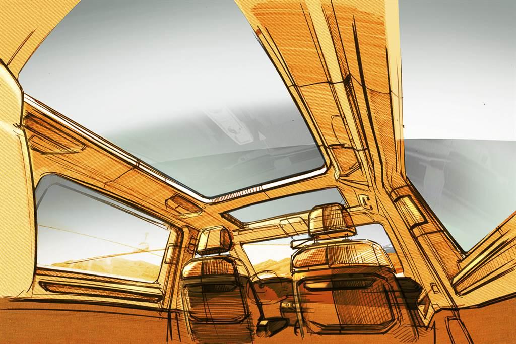 邁入新世代設計語言 福斯商旅釋出 T7 Multivan 內外設計草圖