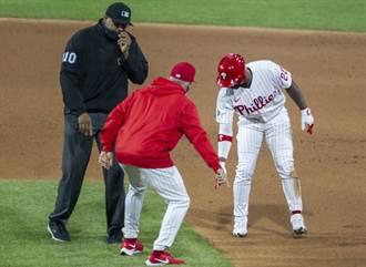 MLB》超能力雙殺?費城人主帥怒嗆離譜誤判