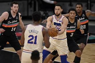 NBA》班西蒙斯超神絕殺補籃 七六人保住東區第1