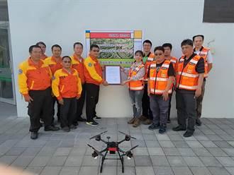 台南市發展繫留無人機 高公局取經簽訂合作