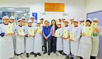 城市科大19位青年廚師 獲日官方授予日料銅勳證照