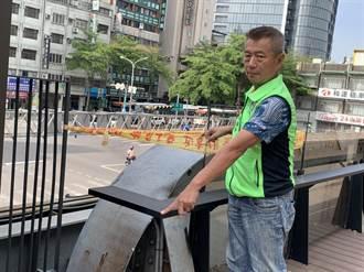 中市綠空鐵道圍籬擋道 中市府:為施工安全暫封閉
