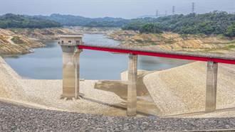 寶二水庫取水塔見底 盼5月兩波降雨解渴