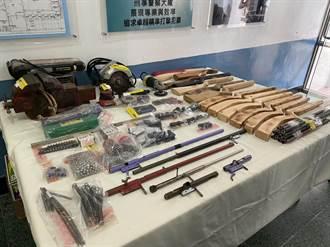 部落客擁槍po網炫耀 花蓮警循線揪出原住民販售自製獵槍