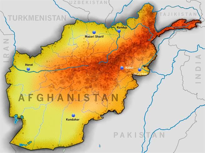 阿富汗政府軍激戰塔利班 逾百名叛亂分子喪命(示意圖/shutterstock)