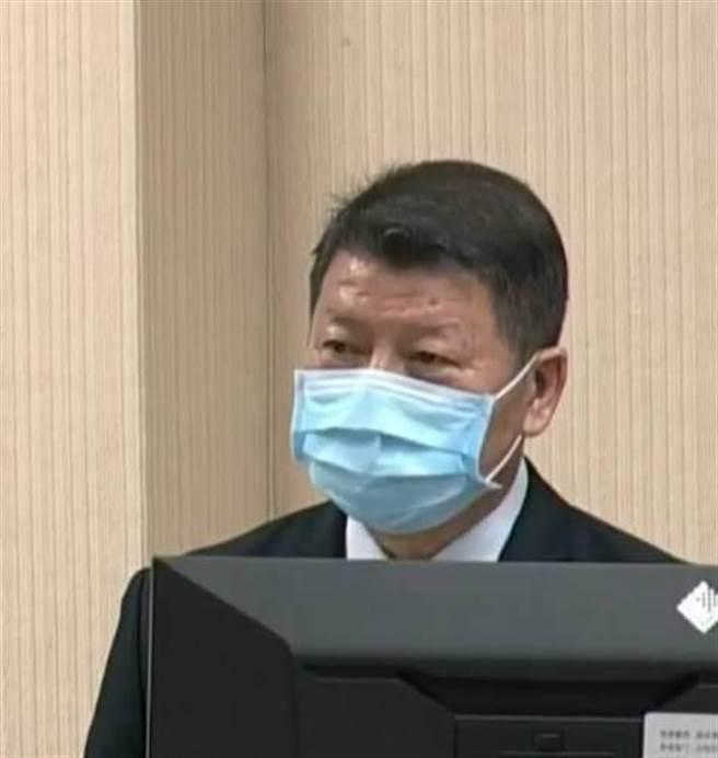 國防部副部長張哲平上將表示,共艦「濱州號」現身東北部外海,單艦訓練也可能情報偵蒐。(呂昭隆翻攝)