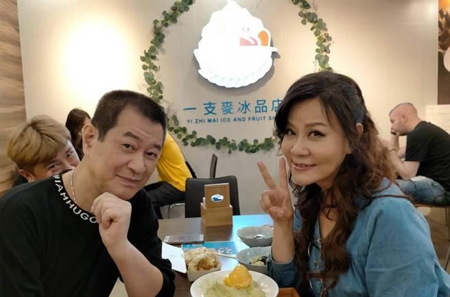 蔡小虎認了想和龍千玉合開演唱會。 (照片/穩盈娛樂 提供)