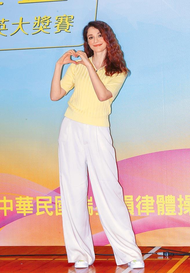 瑞莎致力台灣韻律體操選手培育,3月才剛舉辦瑞星盃賽事。(資料照片)