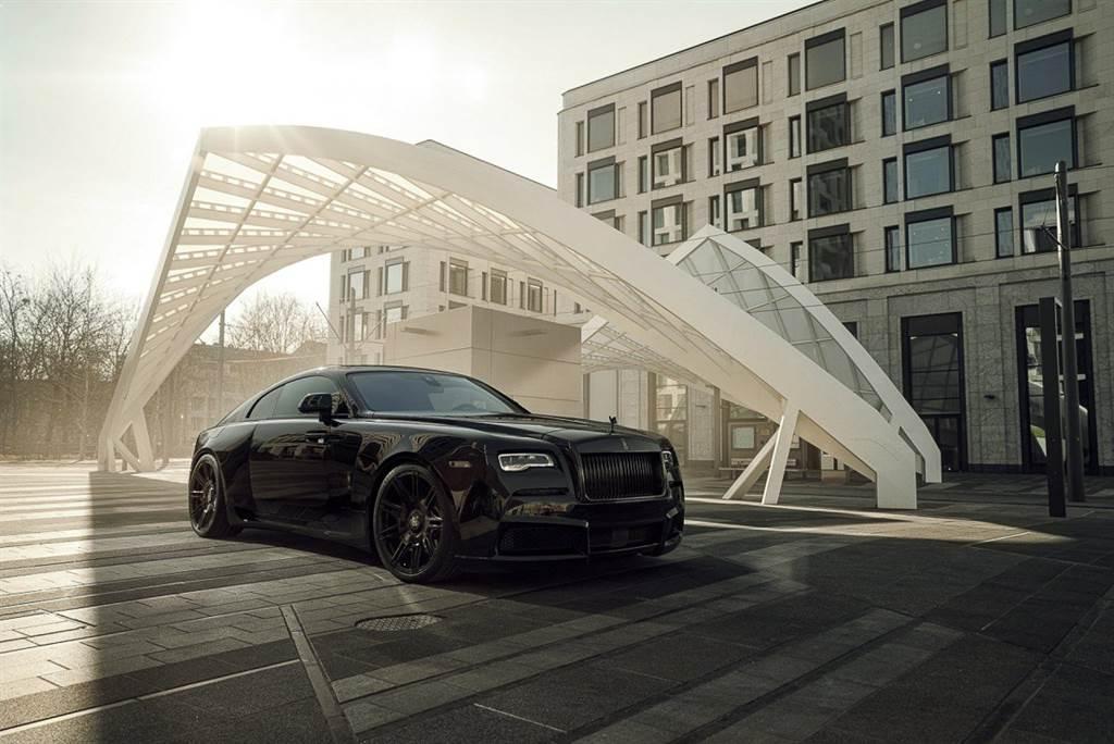 夜色女神降臨 Spofec Rolls Royce Wraith Black Badge Overdose 限量三組挑戰極致珍稀