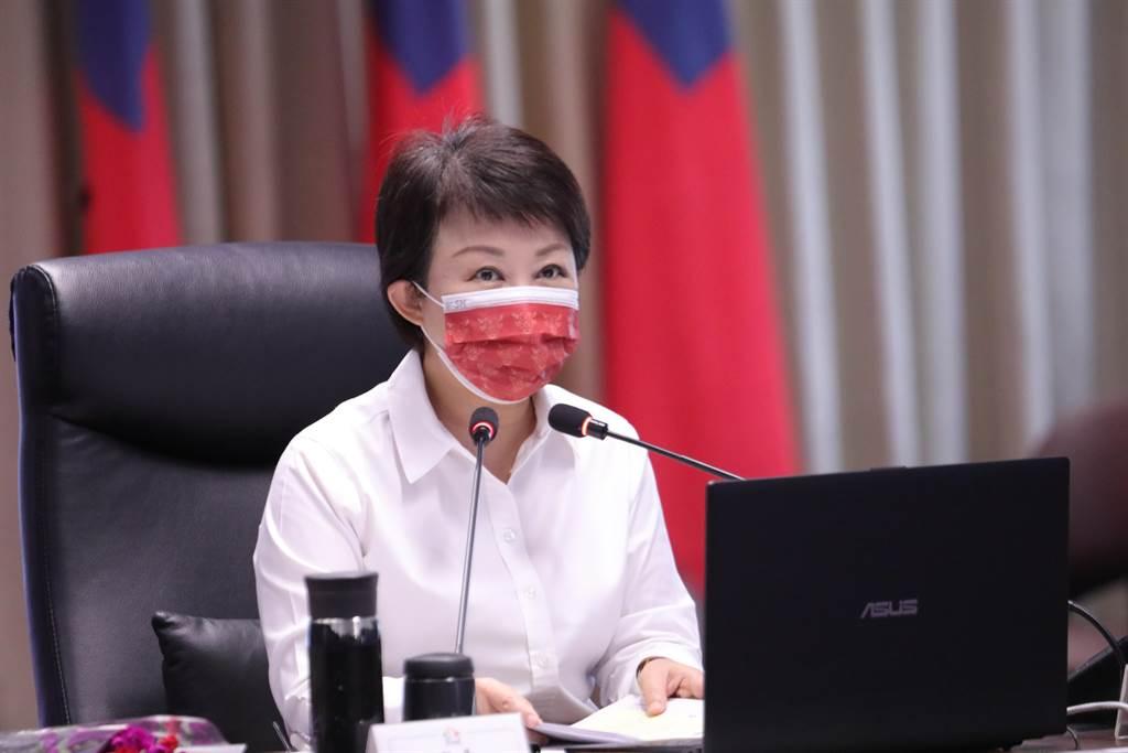 台中市長盧秀燕表示,數字會說話,空品變好,民眾有感,感謝市府團隊用心及民眾配合,目標是好還要更好,市府會繼續努力。(盧金足攝)