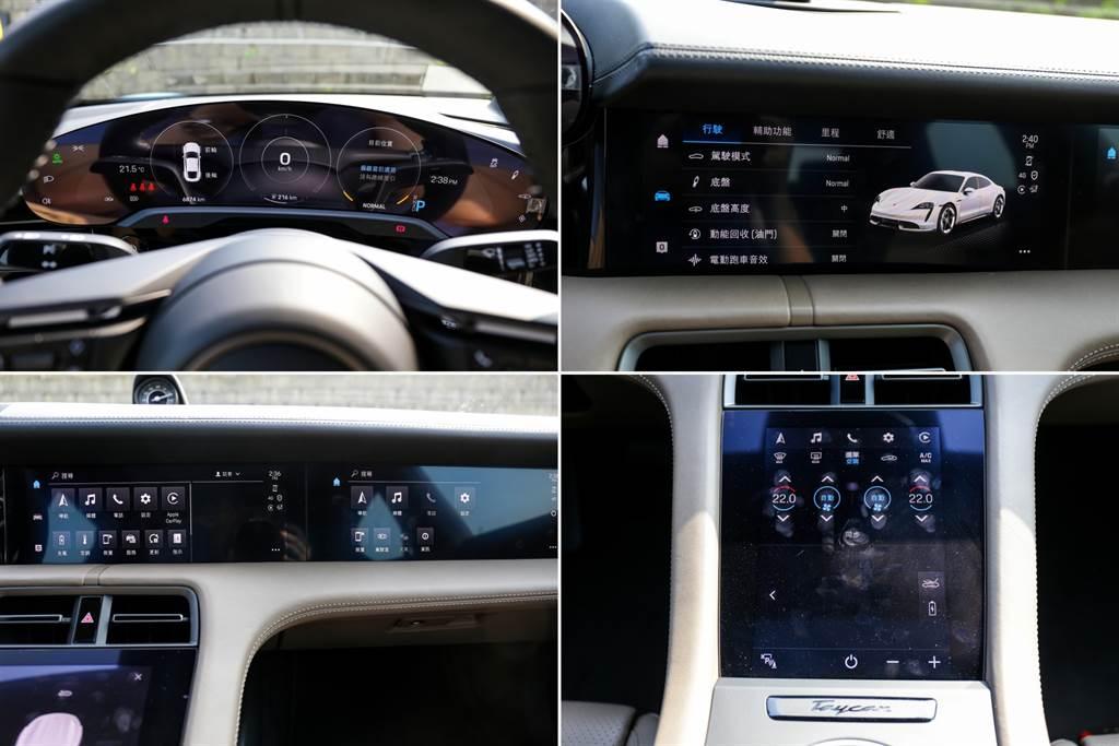 光是前座就有五個螢幕,不過副駕駛座前方的娛樂系統乃是選配(要價6.5萬元)。