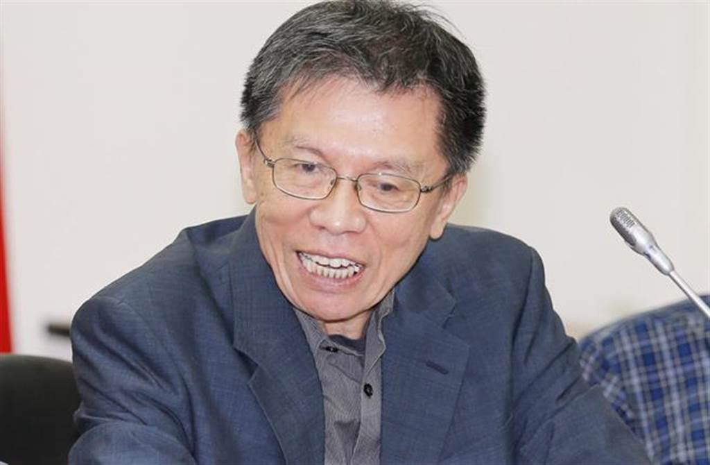 前民進黨立委沈富雄。(資料照片)