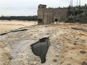 保麗龍大軍攻占 金門湖山灣好望角遭「毀容」