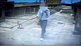 心情不好情緒失控 土耳其男砸西門町「猛鬼大樓」監視器