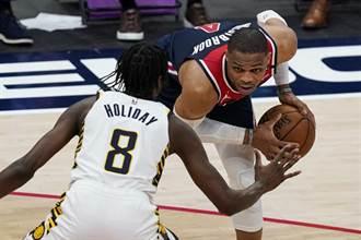 NBA》韋斯布魯克完成生涯第四季場均大三元神奇紀錄
