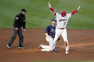 MLB》大谷翔平有多快?內滾竟跑成二壘打