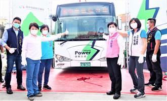 改善空品 台中市拚年底電動公車達240輛