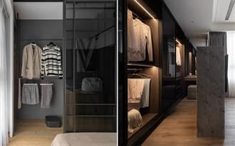房間裡的夢幻更衣室格局! 5 種辦法製造步入更衣儀式感