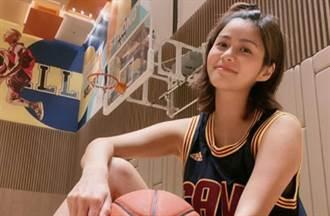籃球女神辣曬比基尼 上下失守白嫩春光全洩