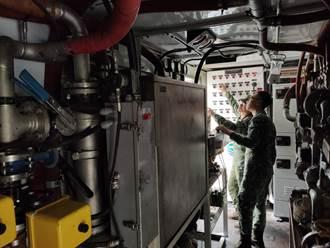 八軍團出動野戰用淨水車 本州工業區日增225噸供水