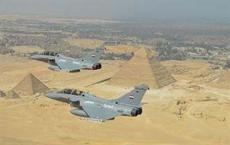 埃及新購30架法國飆風戰機 成為最大海外用戶