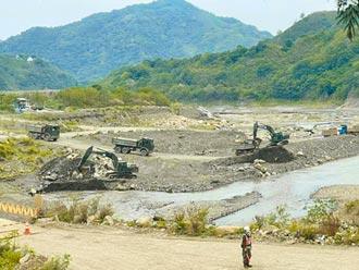 國軍助石門水庫清淤 蔡英文指示加速水源開發