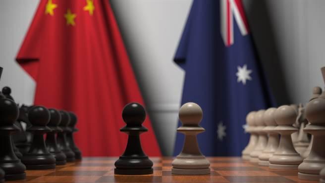 中國針對澳洲發動一連串處於灰色地帶的「政治作戰」行動,並很可能演變成武裝衝突。(示意圖/shutterstock提供)
