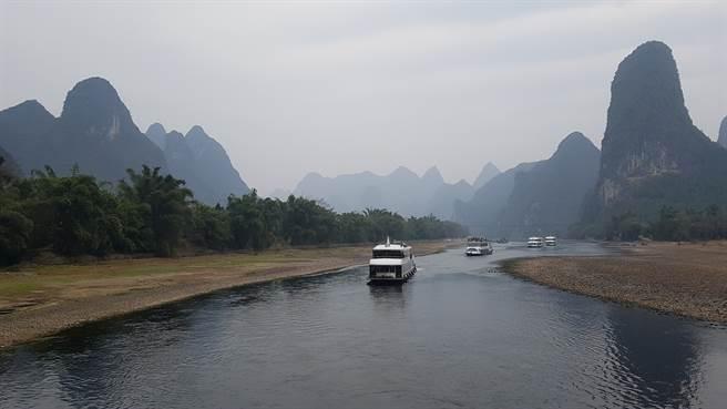 陽朔風景。(台北市兩岸人民交流服務協會提供)