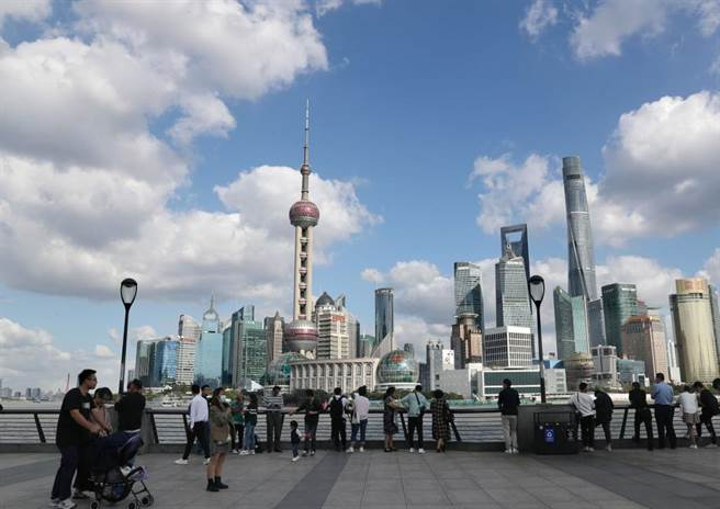 圖為上海外灘。(摘自新華社)