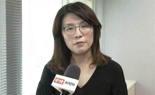 國民黨立委 鄭麗文。(圖/攝影,邱子軒)