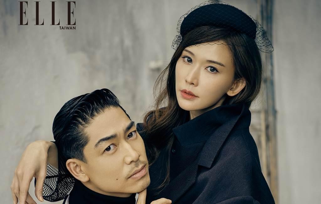 林志玲、AKIRA結婚2年。(圖/《ELLE》國際中文版雜誌提供)