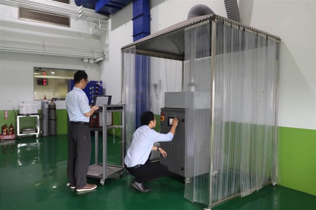 車輛中心提供「產氫系統」驗證服務 助業者布局再生能源