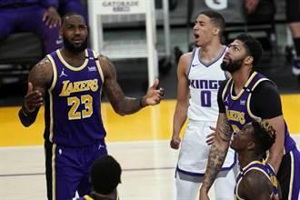 NBA》詹姆斯再掛傷兵 美媒:湖人連霸已無望