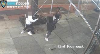 影》台女紐約當街遭暴打 非裔女拿鐵鎚狂敲頭:拿掉口罩
