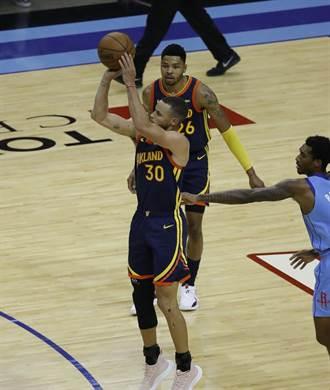 NBA》神奇般的四月表現 柯瑞獲選單月MVP