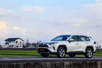 部分規格車頂架從標配改成選配、售價調降 4-5000 元!Toyota RAV4 外觀配備小幅變更