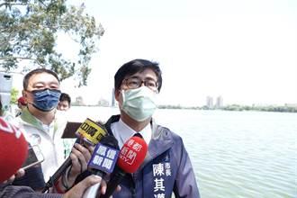 澄清湖蓄水達93% 陳其邁:有信心水情6月中仍維持橙燈