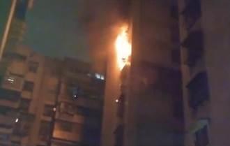 北市中華路大樓火警 警消救出2名8旬受困老婦