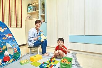 歐德 為主播徐湘華 打造兒童遊戲室