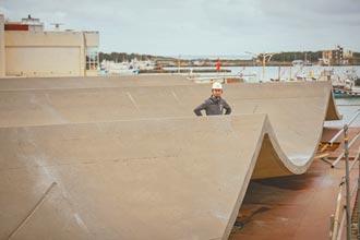 新竹漁港海波浪大棚架 擋風又排水