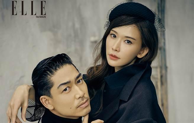 林志玲、AKIRA结婚2年。(图/《ELLE》国际中文版杂志提供)