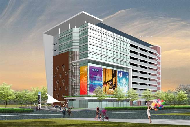 彰化市第二停車場,BOT商場開發案,有規模龐大百貨公司投標。(彰化市公所提供/吳敏菁彰化傳真)