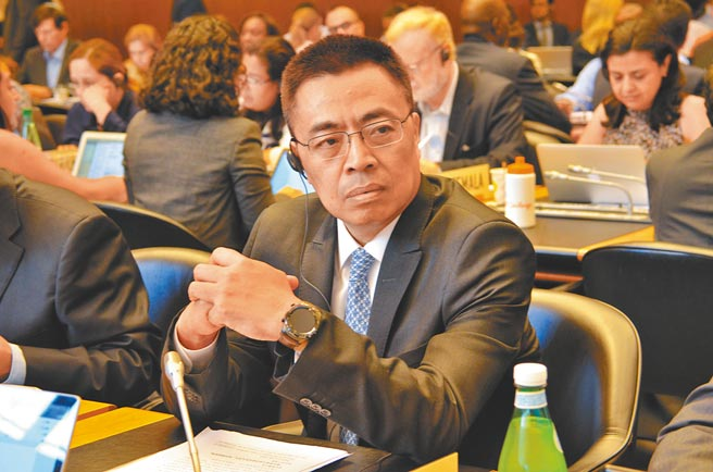 中国商务部副部长张向晨,获任命出任世贸组织副秘书长。(中新社)