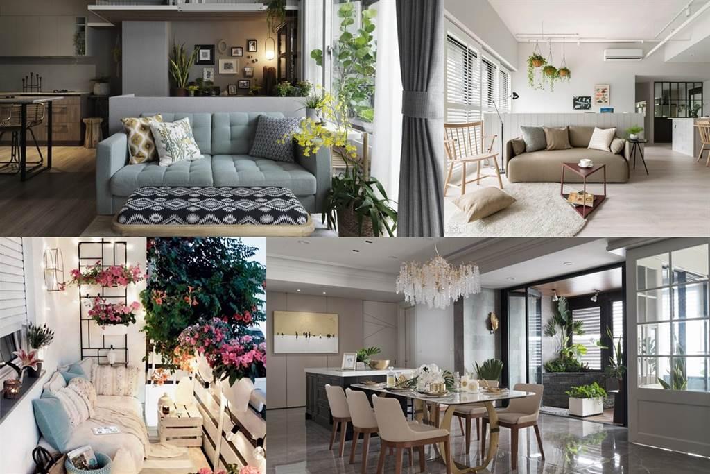 圖片提供/澄境室內設計有限公司、寓子設計、台灣廣廈、張馨&瀚觀室內設計