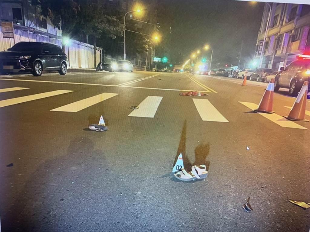 媒體人黃暐瀚母親5日凌晨遭酒駕衝撞身亡後,台中市警方將連續5天酒駕大執法。(讀者提供/張妍溱台中傳真)