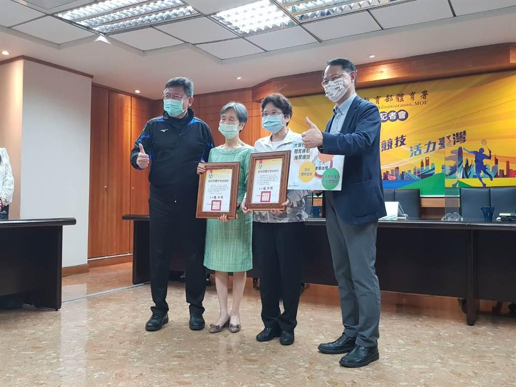 體育署將「體育衡量指標」納入教育部大專校院績效補助的指標之一,台北醫學大學、銘傳大學連續3年獲得該指標滿分。(陳筱琳攝)