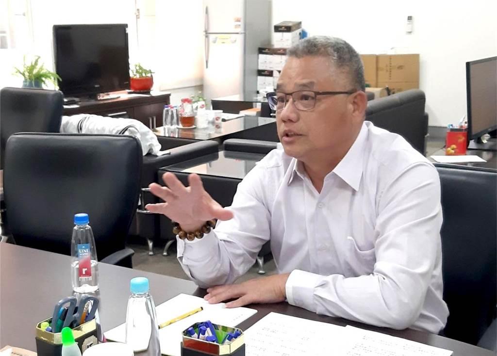 圖為新竹市藍營黨內初選2022新竹市長參選人林耕仁。(圖:中時新聞網資料照)